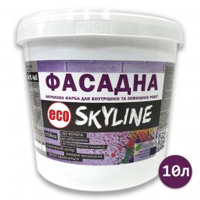 Краска акриловая Eco Skyline фасадная матовая белая - изображение 2 - интернет-магазин tricolor.com.ua