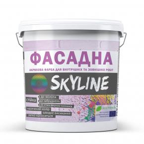 Краска акриловая Skyline фасадная матовая белая