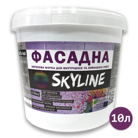 Краска акриловая Skyline фасадная матовая белая - изображение 2 - интернет-магазин tricolor.com.ua