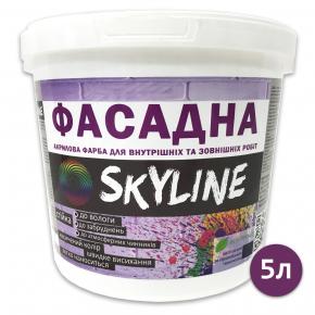 Краска акриловая Skyline фасадная матовая белая - изображение 3 - интернет-магазин tricolor.com.ua