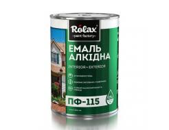 Эмаль алкидная Rolax ПФ-115 Белая - интернет-магазин tricolor.com.ua