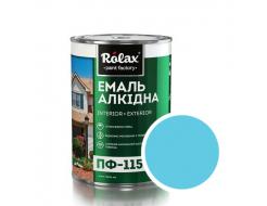 Эмаль алкидная Rolax ПФ-115 Голубая - интернет-магазин tricolor.com.ua