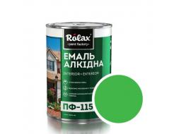 Эмаль алкидная Rolax ПФ-115 Светло-зеленая - интернет-магазин tricolor.com.ua