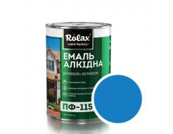 Эмаль алкидная Rolax ПФ-115 Синяя - интернет-магазин tricolor.com.ua