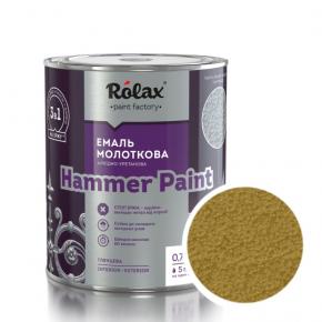 Эмаль молотковая Rolax Hammer paint Золото