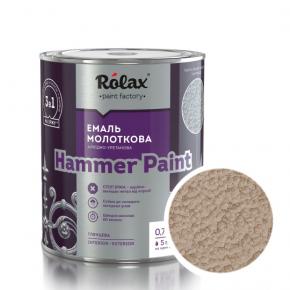 Эмаль молотковая Rolax Hammer paint Медная - интернет-магазин tricolor.com.ua