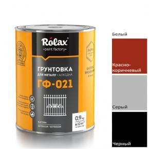 Грунт алкидный Rolax ГФ-021 Красно-коричневый - изображение 2 - интернет-магазин tricolor.com.ua