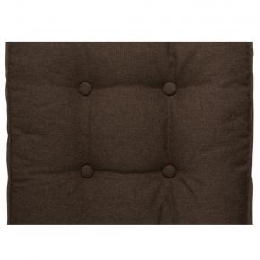 Подушка на стул Dotinem Capitone aqua коричневая 40х40 - изображение 2 - интернет-магазин tricolor.com.ua