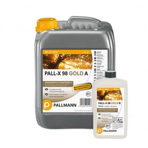 Лак для пола водный Pallmann Pall-X 98 Gold 2К глянцевый износоустойчивый