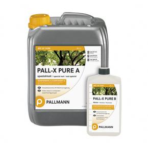 Лак для пола водный Pallmann Pall-X Pure 2К полуматовый