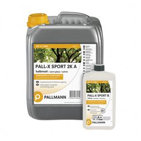 Лак для спортзалов водный Pallmann Pall-X Sport 2К полуматовый