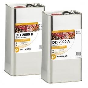 Лак полиуретановый паркетный Pallmann DD 2000 2К полуматовый для химических нагрузок