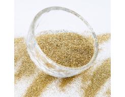Глиттер Гексагон Tricolor BX 0,4 мм (1/64) золото европейское