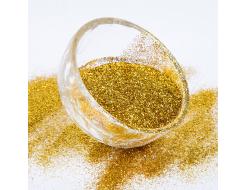 Глиттер Гексагон Tricolor BX 0,2 мм (1/128) золото яркое