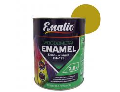 Эмаль алкидная Emalio ПФ-115 Желтая