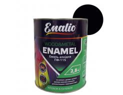 Эмаль алкидная Emalio ПФ-115 Черная