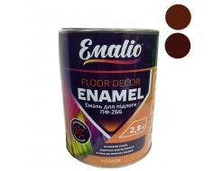 Эмаль для пола Emalio ПФ-266 Красно-коричневая