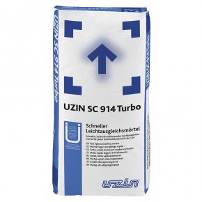 Раствор выравнивающий Uzin SC 914 Turbo для теплоизоляции пола 5 мм