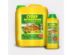 Супер-антисептик для дерева и бетона Ispolin концентрат 1:4