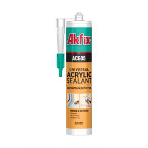 Акриловый герметик Akfix AC605 - интернет-магазин tricolor.com.ua