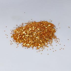 Глиттер GSun/0,4 мм (1/64) солнечный желтый Tricolor