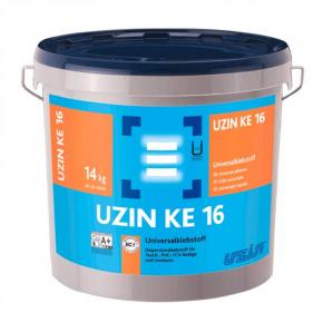 Клей Uzin KE 16 для текстильных ПВХ-покрытий и линолеума