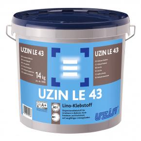 Клей Uzin LE 43 new для линолеума и пробки