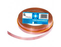 Лента медная Uzin Kupferleitband для электропроводящих напольных конструкций 10 мм*20 м