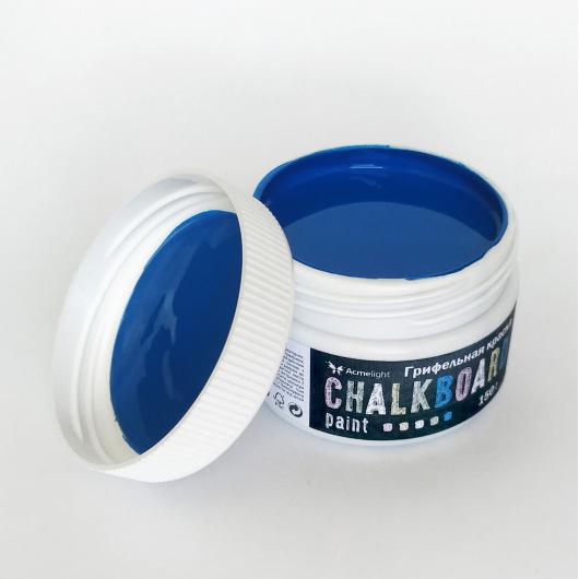 Грифельная краска Acmelight Chalkboard RAL 5005 синяя - изображение 4 - интернет-магазин tricolor.com.ua