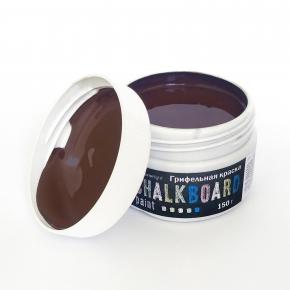 Грифельная краска Acmelight Chalkboard RAL 8017 коричневая - изображение 5 - интернет-магазин tricolor.com.ua