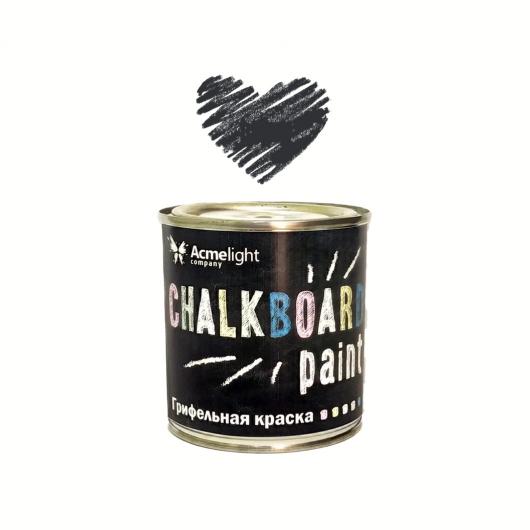 Грифельная краска Acmelight Chalkboard RAL 9004 черная - интернет-магазин tricolor.com.ua