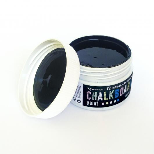 Грифельная краска Acmelight Chalkboard RAL 9004 черная - изображение 4 - интернет-магазин tricolor.com.ua