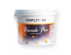 Краска фасадная SimpleTone Facade Pro Base Pastel белая