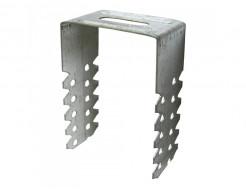 Скоба П-образная CD 75 мм облегченная для крепления гипсокартона - изображение 2 - интернет-магазин tricolor.com.ua