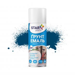 Аэрозольная грунт-эмаль 2в1 Star Paint 48 синяя