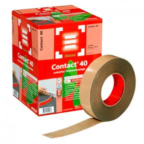 Клейкая лента Uzin Contact для ковровых плинтусов 40 мм 50 м