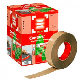 Клейкая лента Uzin Contact для ковровых плинтусов 50 мм 50 м