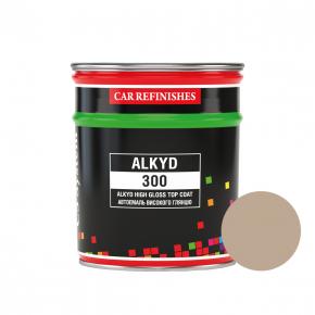 Автоэмаль CS System Alkyd 300 алкидная 235 Бежевая (0,8 л)