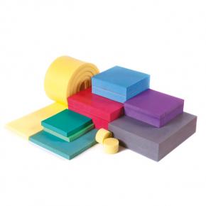 Виброопора Виброфикс Блок (Vibrofix Block) для фундаментов оборудования 10/25 желтая - интернет-магазин tricolor.com.ua