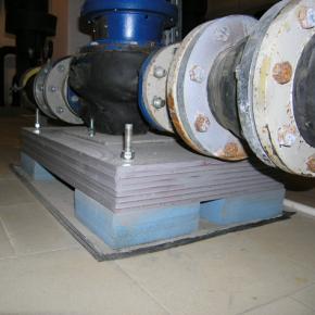 Виброопора Виброфикс Блок (Vibrofix Block) для фундаментов оборудования 10/25 желтая - изображение 5 - интернет-магазин tricolor.com.ua