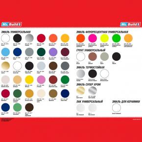 Эмаль акриловая аэрозольная Mr.Build RAL 3005 темно-бордовый - изображение 2 - интернет-магазин tricolor.com.ua