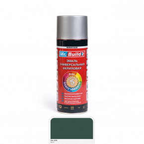 Эмаль акриловая аэрозольная Mr.Build RAL 6005 зеленый мох