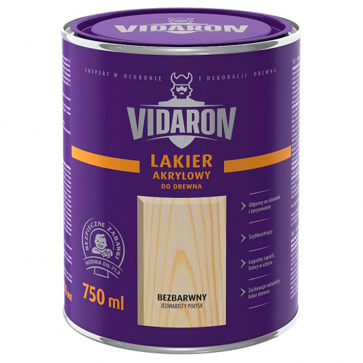 Лак яхтный Vidaron бесцветный глянцевый