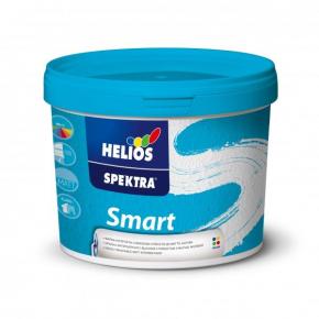 Матовая акриловая интерьерная краска стойкая к мытью Helios Spektra Smart B1 белая