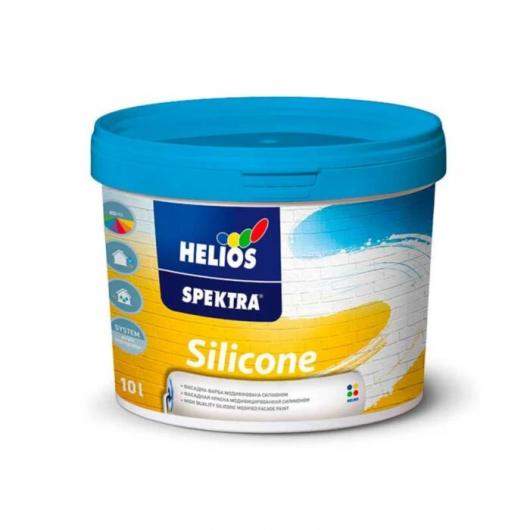 Силиконовая фасадная краска Spectra Silicone B1 полуматовая белая