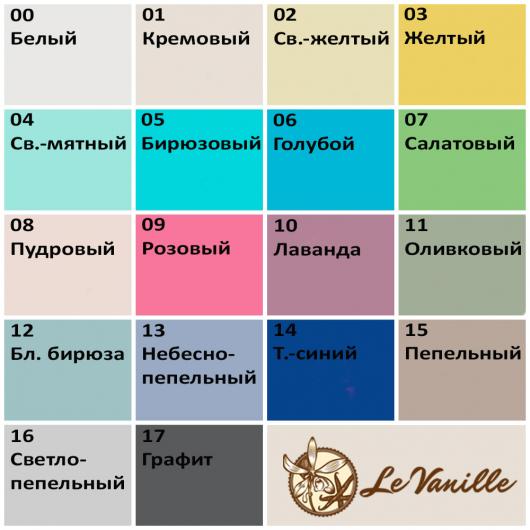Меловая краска Le Vanille Vintage Home Белая 00 - изображение 2 - интернет-магазин tricolor.com.ua