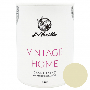 Меловая краска Le Vanille Vintage Home Светло-желтая 02