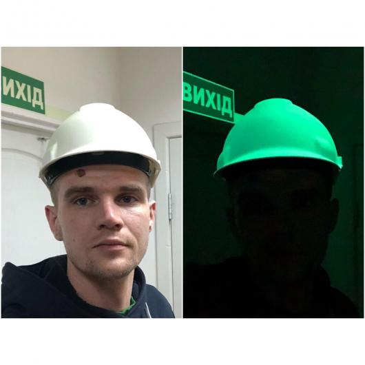 Светящаяся каска AcmeLight - изображение 2 - интернет-магазин tricolor.com.ua