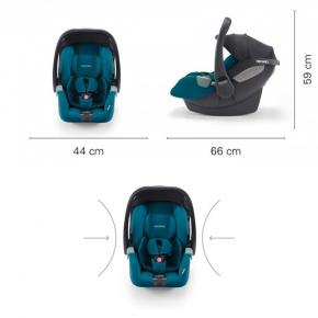 Автокресло Recaro Avan Select Pacific Blue - изображение 2 - интернет-магазин tricolor.com.ua