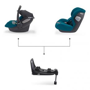 Автокресло Recaro Kio i-Size Prime Silent Grey - изображение 3 - интернет-магазин tricolor.com.ua